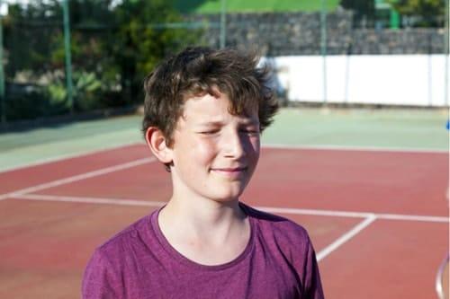 bambini genitori tennis