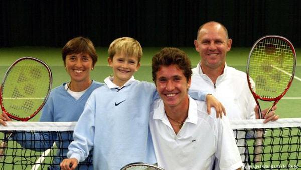 tennis la mamma e lo sport