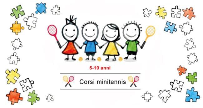 minitennis, corsi tennis, scuola tennis, bambini, insegnamento, attività motoria