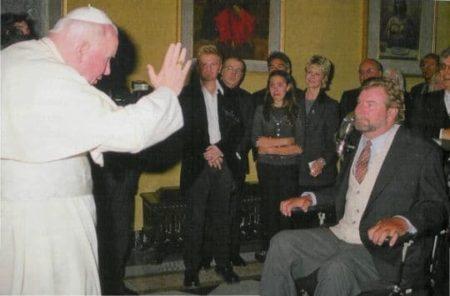 kilgour, campione, pallavolo, papa giovanni paolo II