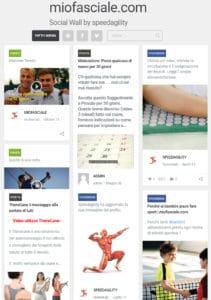 miofasciale social wall facebook pinterest vimeo wordpress