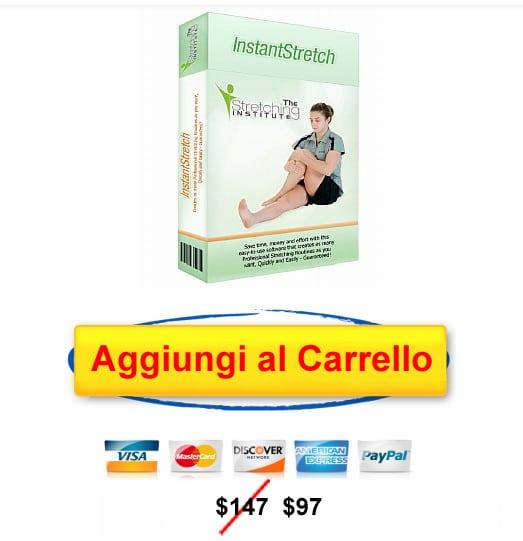 software stretching, aggiungi al carrello stretching