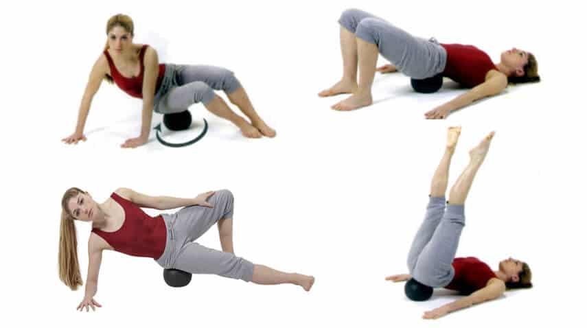palla massaggio miofasciale, myofascial ball