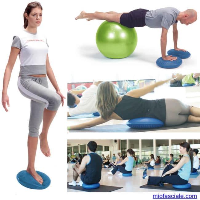 caviglia, ginocchia, bacino, equilibrio e propriocezione
