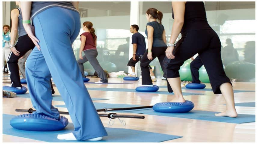 cuscino per seduta dinamica aiuta la schiena utile per ginocchio e caviglia migliora equilibrio