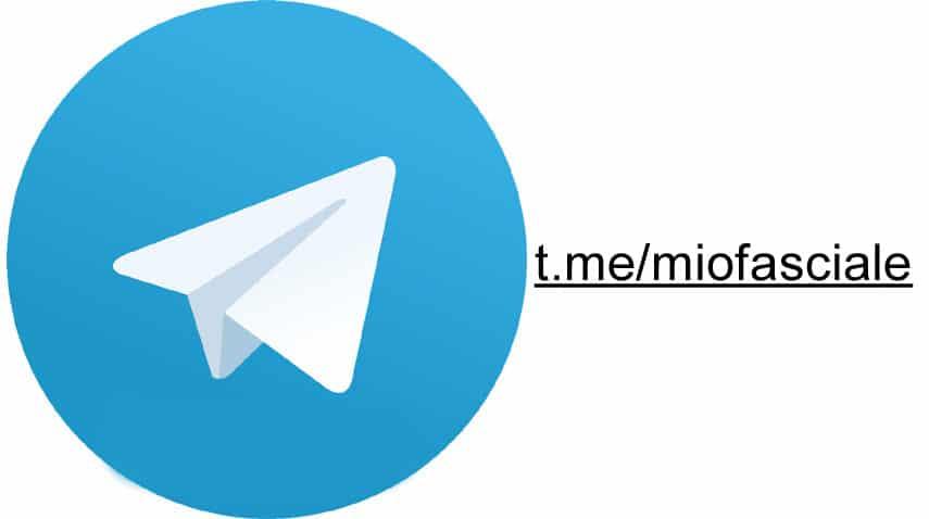 canale telegram miofasciale