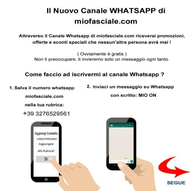 iscrizione canale whatsapp miofasciale