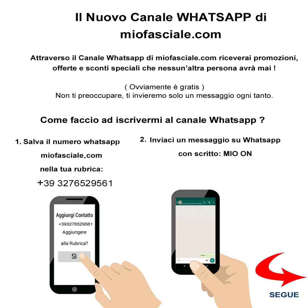 iscrizione whatsapp miofasciale