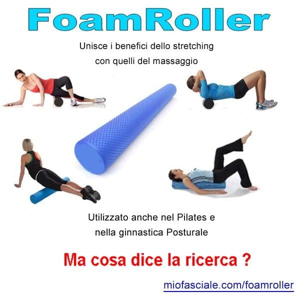 foamroller, miofasciale, pilates, yoga, lombalgia, rigidità, mal di schiena, feldenkrais