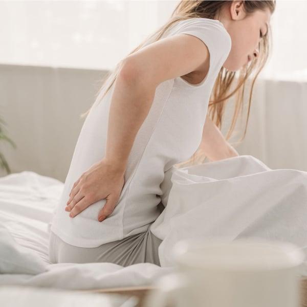 lombalgia, rigidità, mal di schiena al risveglio