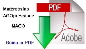 istruzioni, guida, materassino agopressione pdf