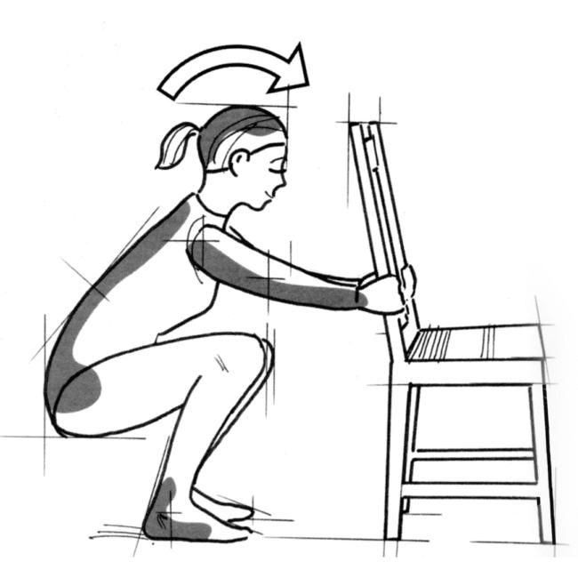 squatting, stitichezza, emorroidi, ginnastica, abitudini