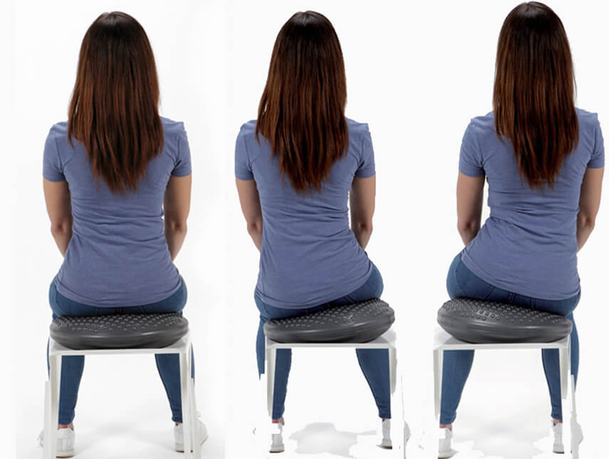 disco sit, cuschion, posture, postural, well-being, wellness, fitness, gymnic